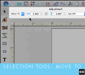 Selection Tool: Move To
