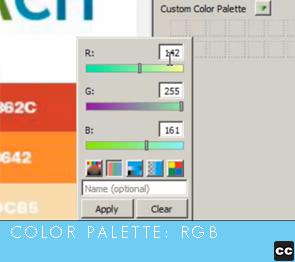Color Palette: RGB