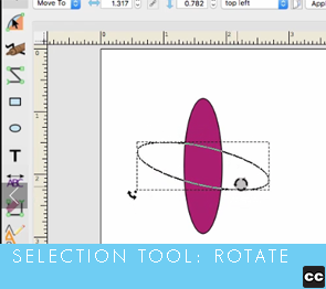 Selection Tool: Rotate
