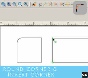 Move Point Toolbar: Round Corner