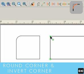 Move Point Toolbar: Round Corner
