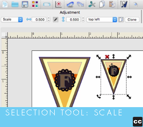 Selection Tool: Scale