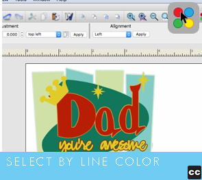 Selection Tool: Select by Line Color