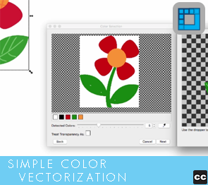 Vectorization: Simple Color Vectorization