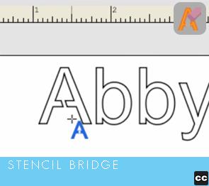 Stencil Bridge