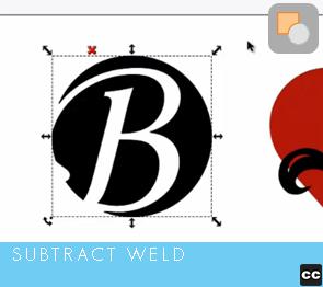 Selection Tool: Subtract Weld