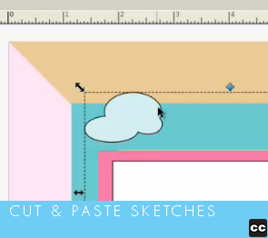 Project: Cut and Paste Sketches