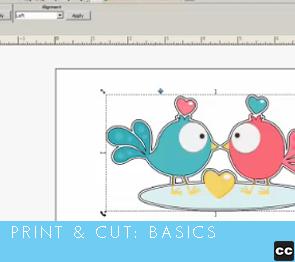Print and Cut: Basics