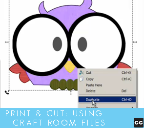 Print and Cut: Using Pazzles Craft Room Files