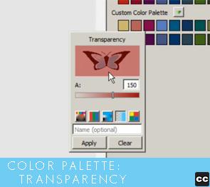 Color Palette: Transparency