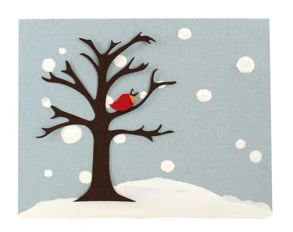 Wcmd Create A Winter Scene With Stencils Pazzles Craft Room