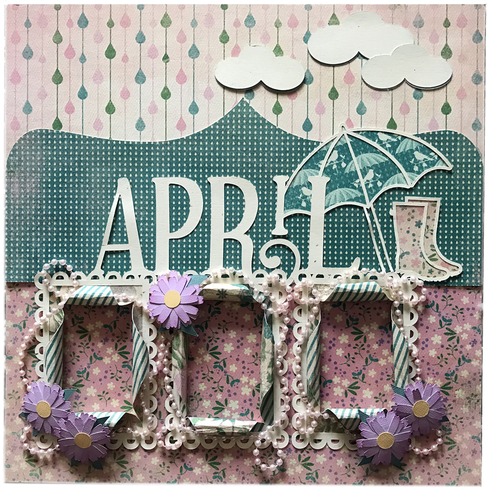 12 Memories of Christmas: April made with the Pazzles Inspiration Vue