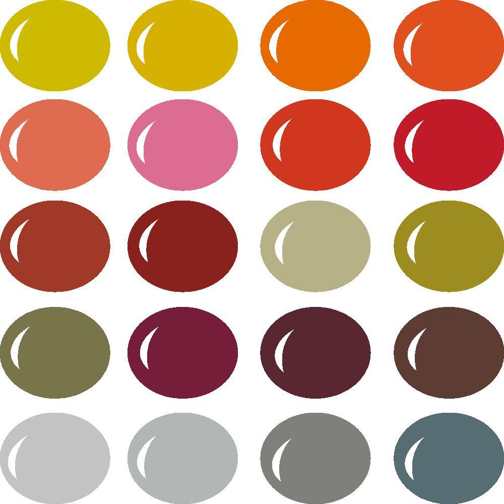 InVue Color Palette: Autumn 2017
