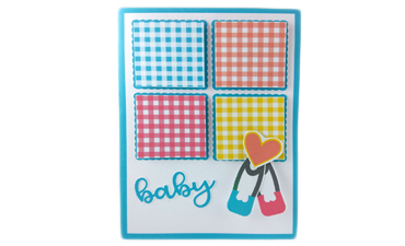 Baby Quilt Blocks Cards