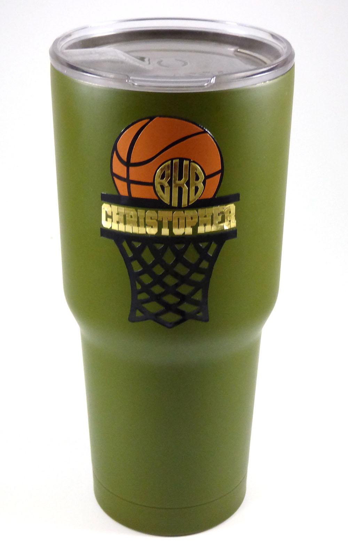Basketball Monogram Mug Pazzles Craft Room