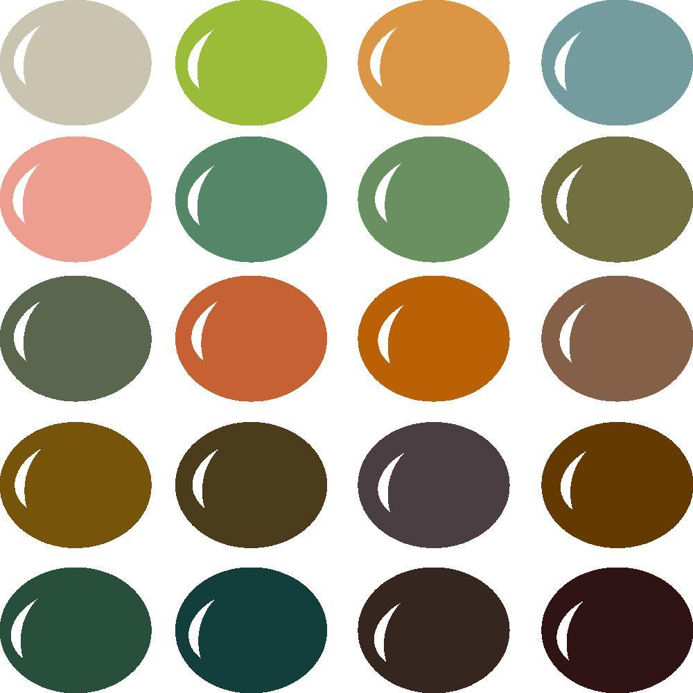 InVue Color Palette: Be Kind Rewind