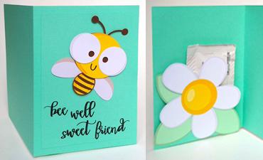 Bee Well Pocket Card