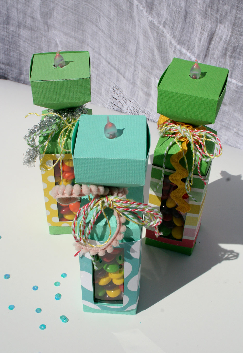 Birthday Candle Treat Boxes