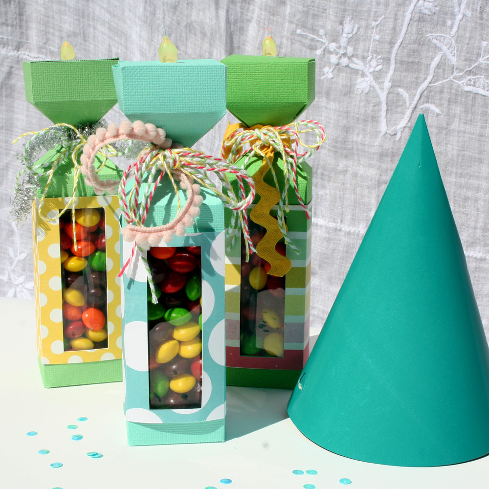 BirthdayCandle Treat Boxes
