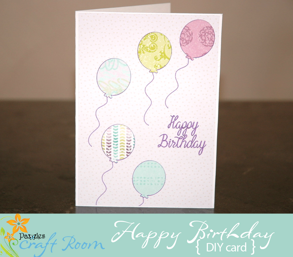 I Love The New Digital Paper That Pazzles Has Introduced To Craft Room Wanted Make A Simple Birthday Card Using Image Crop Tool With