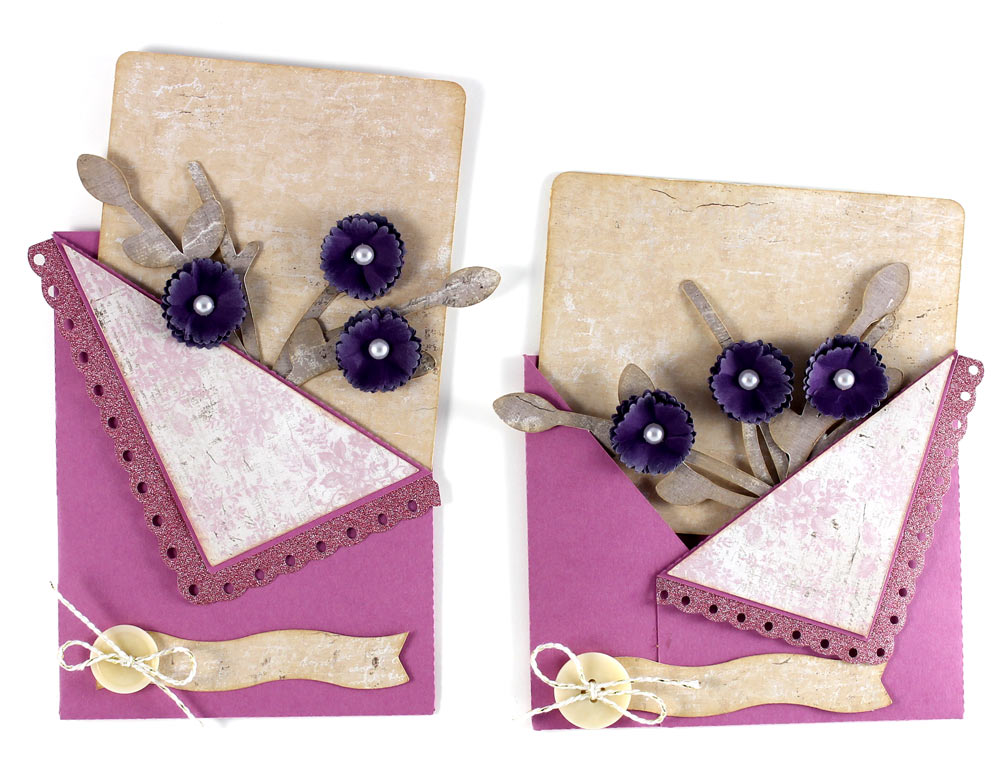 Blooming Flowers Pocket Cards