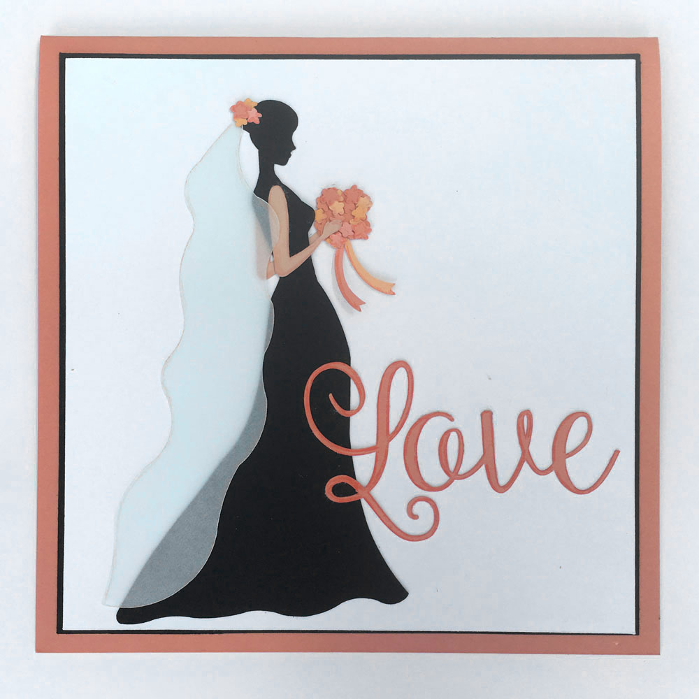bride card-wedding card