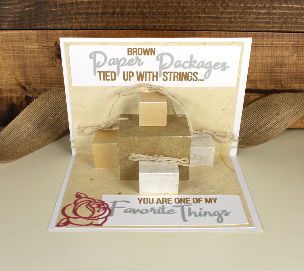 Packages Pop Up Card