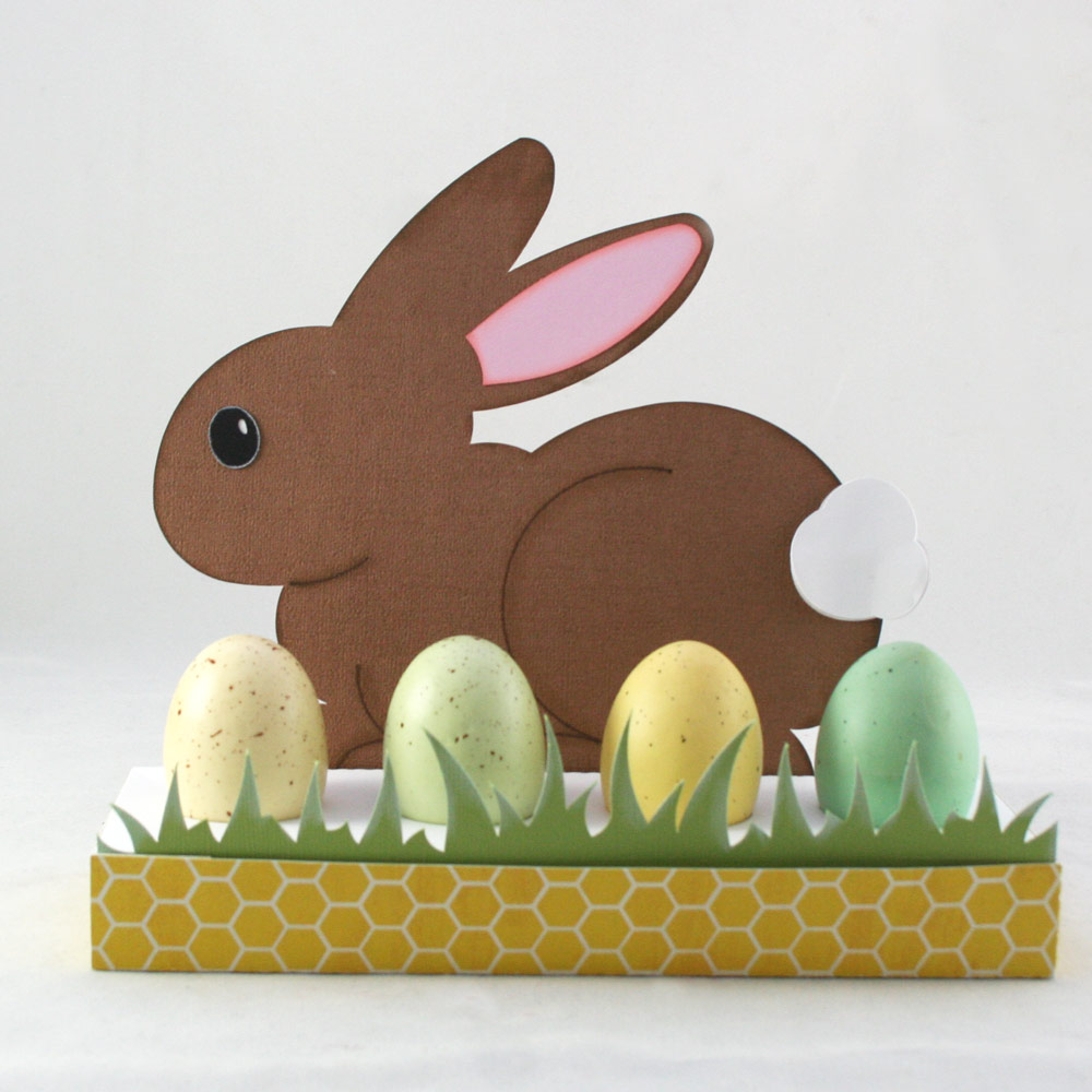 Bunny Easter Egg Stand