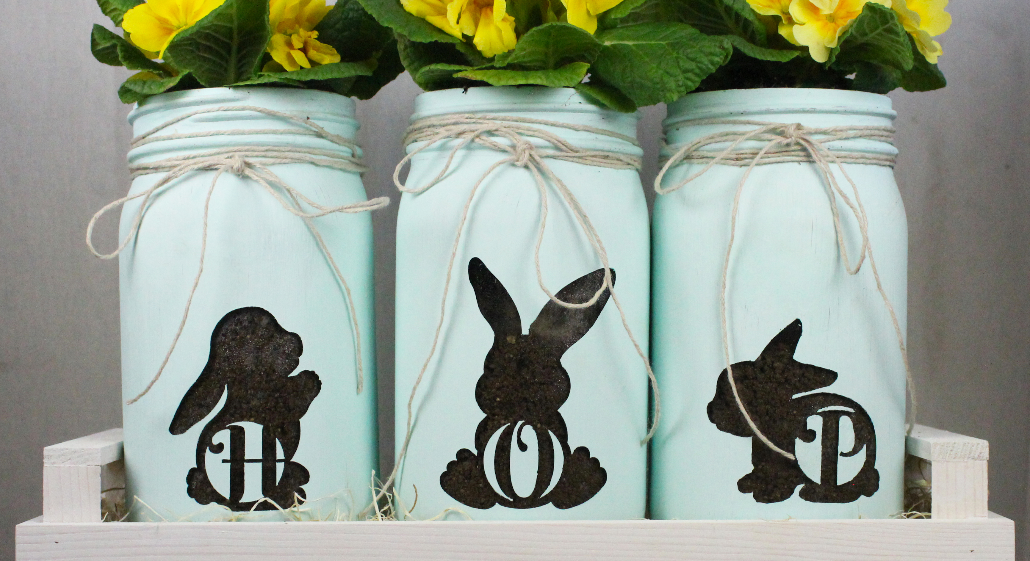 Bunny Rabbit Monograms