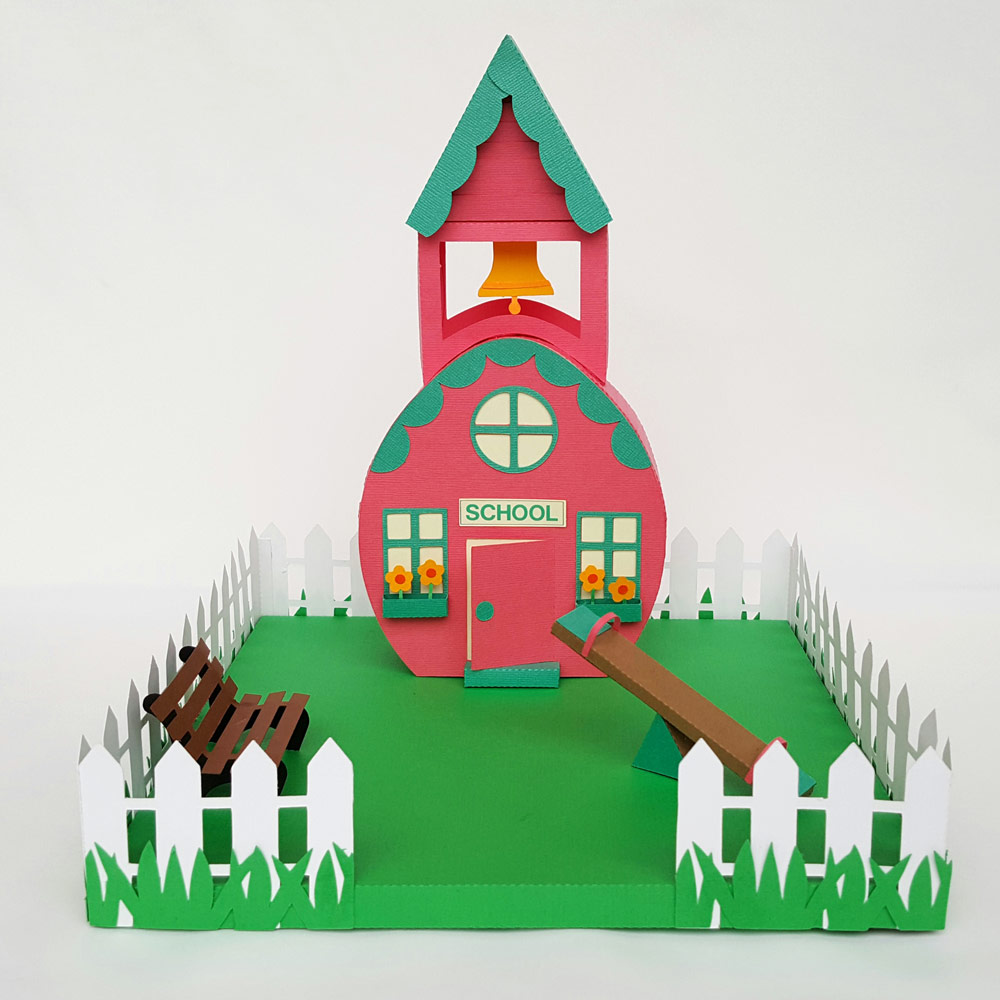 Easter Village Schoolhouse