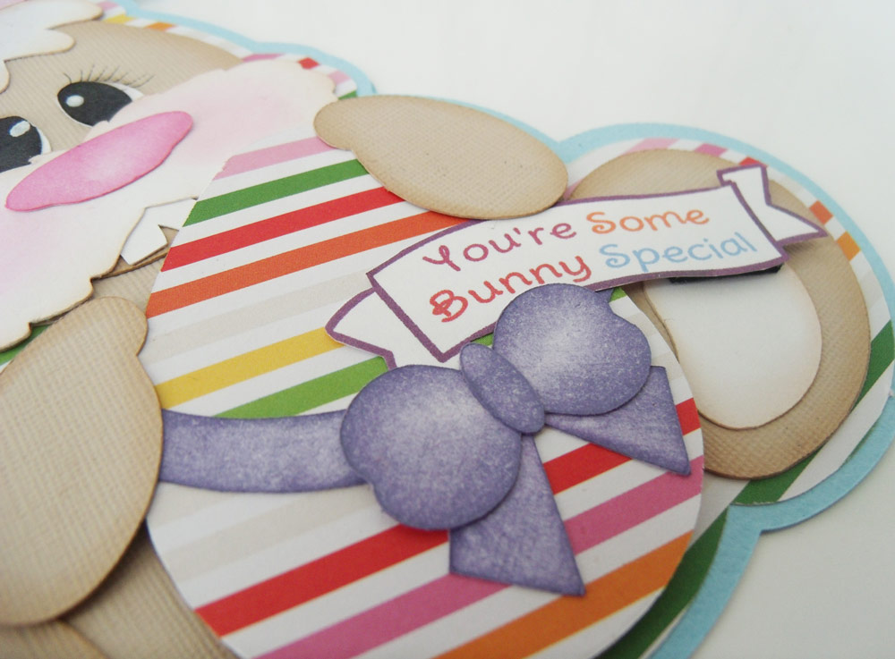 bunny-shaped-card-side-view