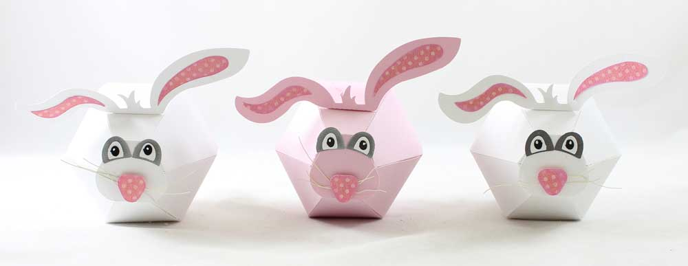 Bunny Treat Boxes for Easter basket ideas