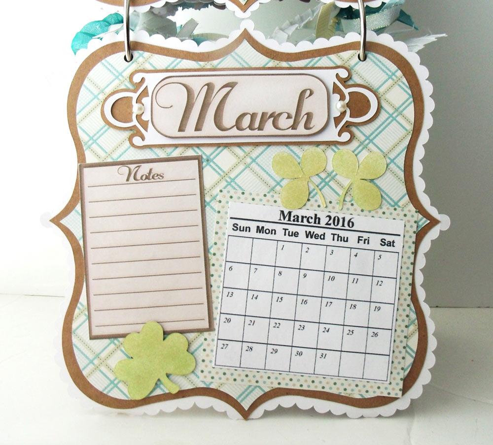 Calendar Mini Album