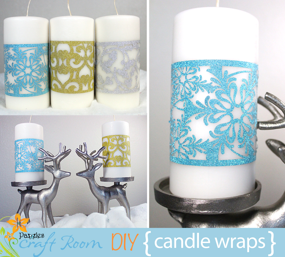 Candle Wraps Pazzles Craft Room
