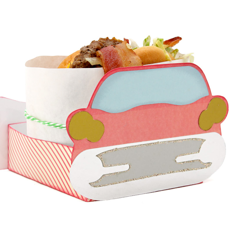 Car Burger Wrap