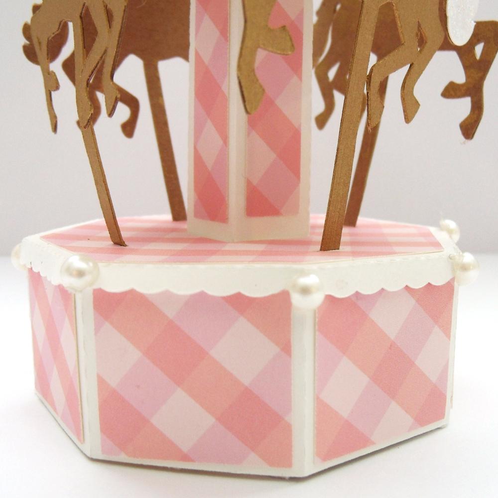 3D Dimensional Paper Carousel Party Favor