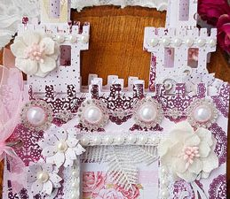 Pazzles DIY Castle Mini Album by Nida Tanweer