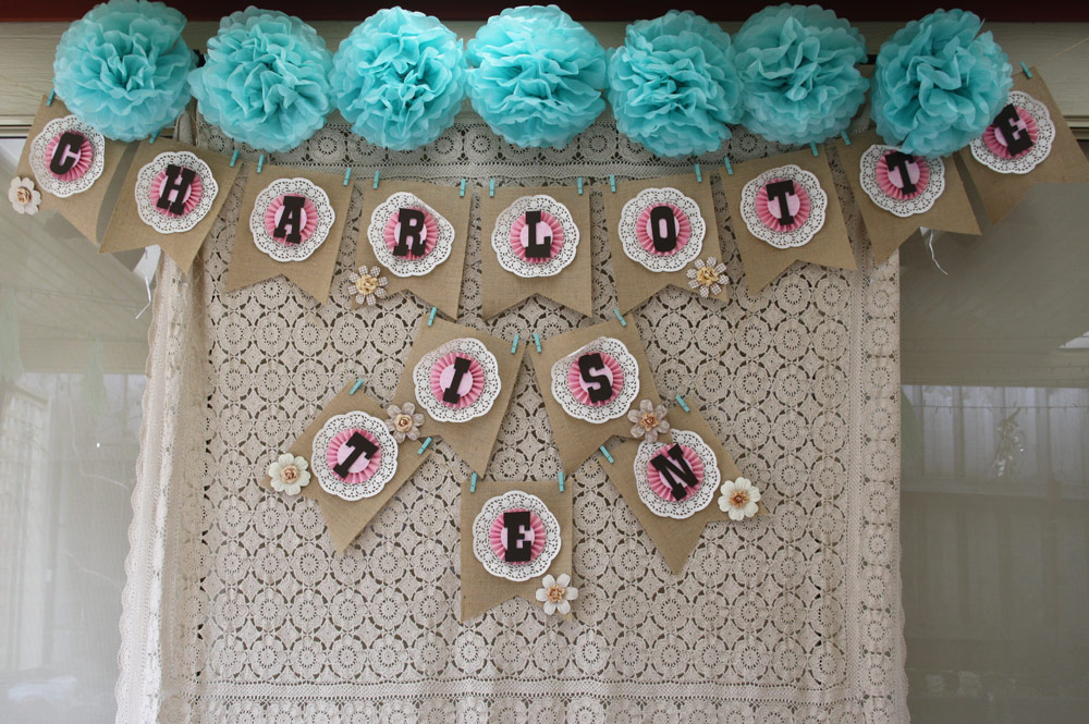 Pazzle Craft Room: Vintage Country Birthday Banner