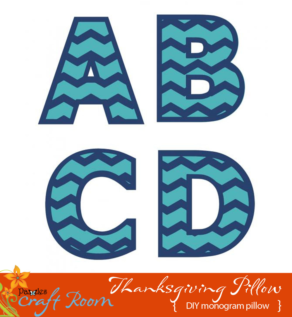 Chevron Monogram Cutting Collection Wpc Ai And Svg