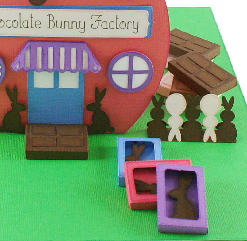 Chocolate Bunny Factory SVG Files