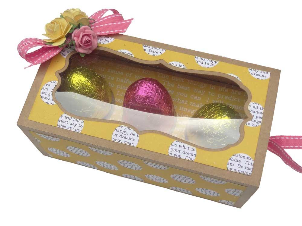 Easter Chocolate Egg basket