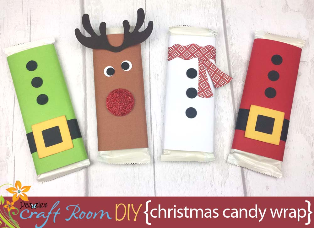 Christmas Candy Bar Wraps