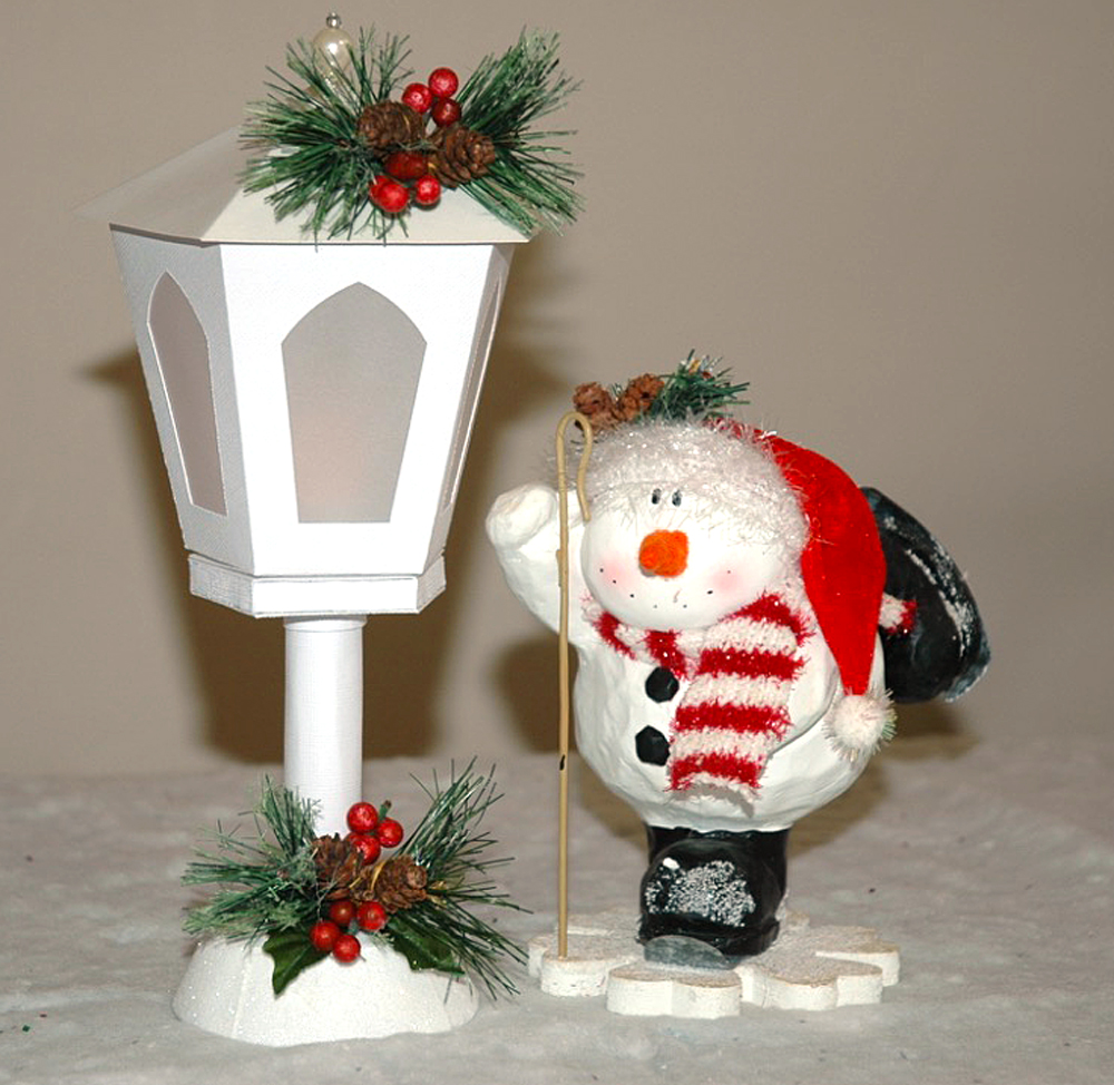 Christmas Tea Light Lantern