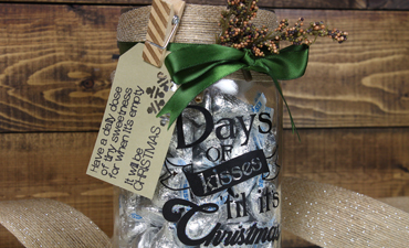Advent Countdown Jar
