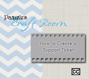 How to Create a Support Ticket
