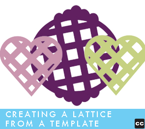 Creating Lattice From A Template