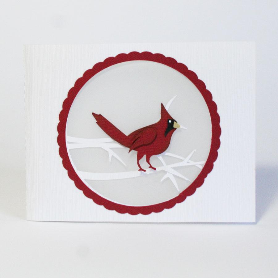 Christmas Cutaway Cards