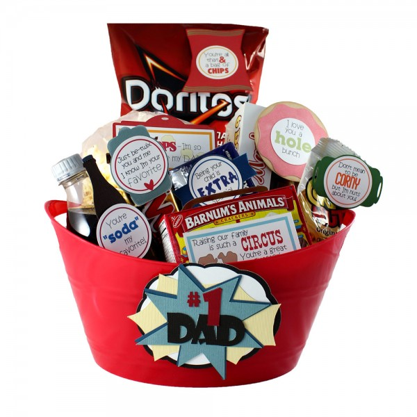 Dad's Day Snack Pack