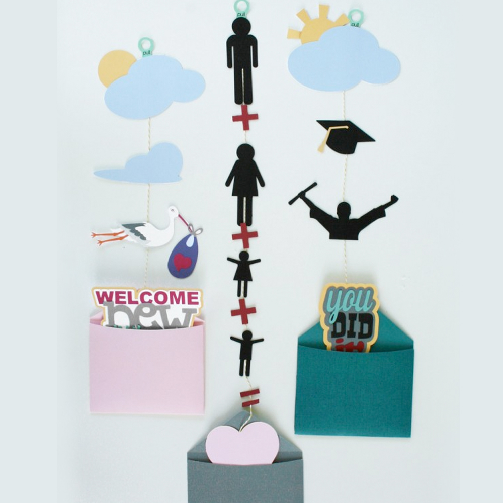 Dads grads and babies pullout cards