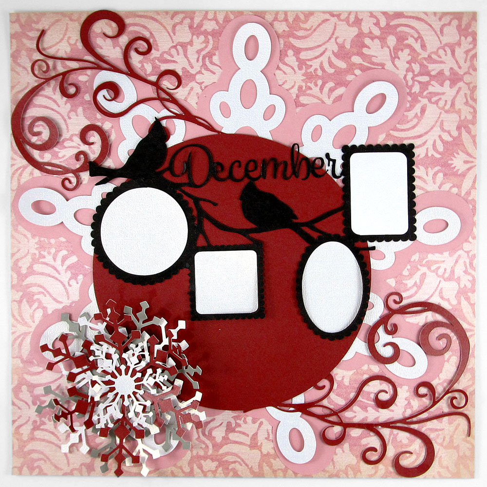 12 Memories of Christmas: December made with the Pazzles Inspiration Vue